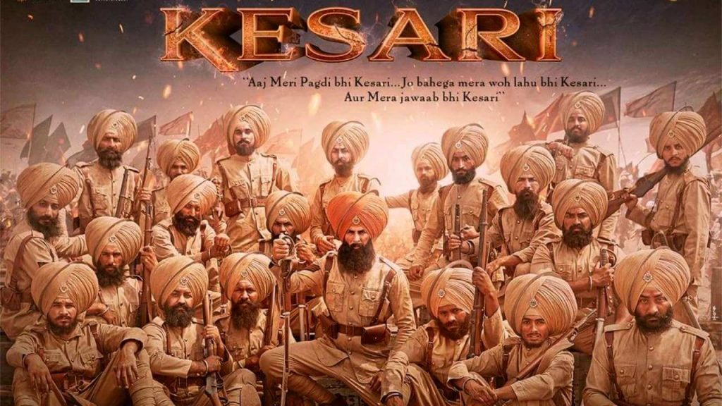 Kesari movie, Kesari poster