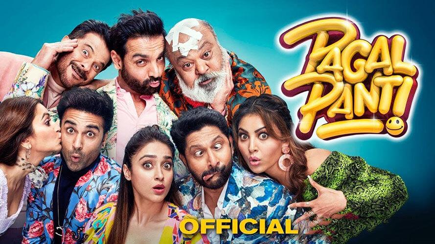 Pagalpanti movie, Pagalpanti movie poster