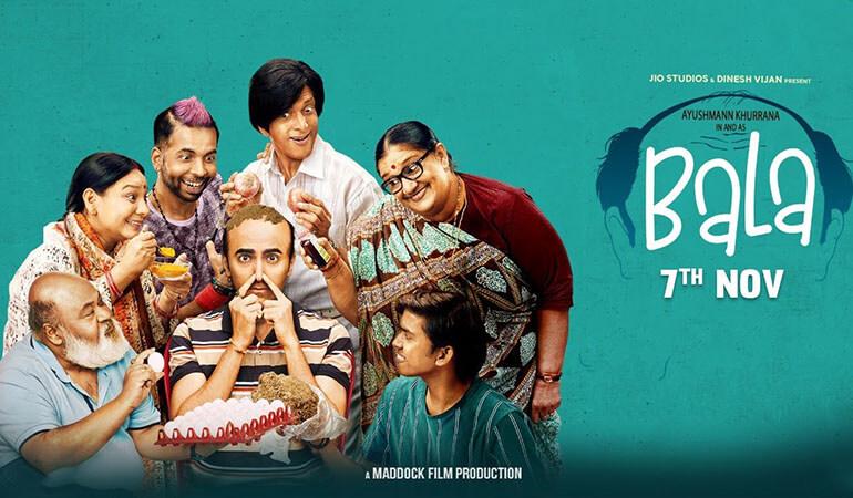 Bala movie, Bala movie poster, bala