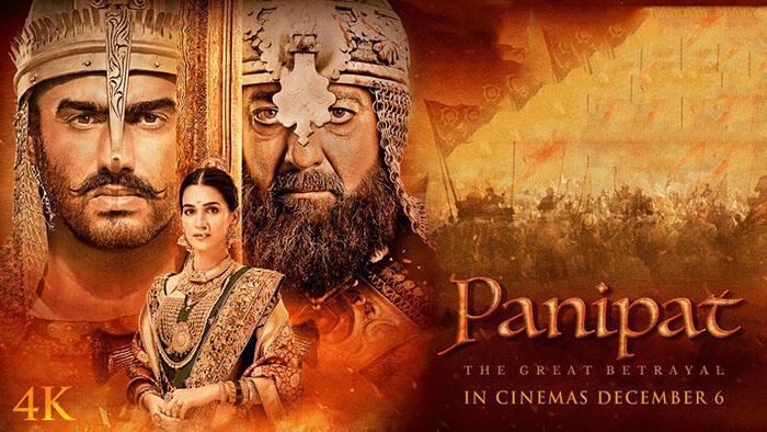 Panipat movie, Panipat movie poster