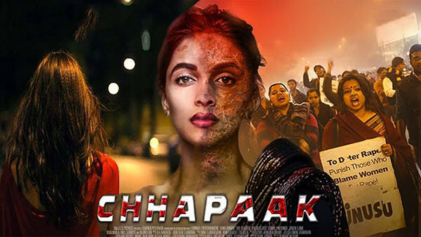 Chhapaak movie, Chhapaak poster