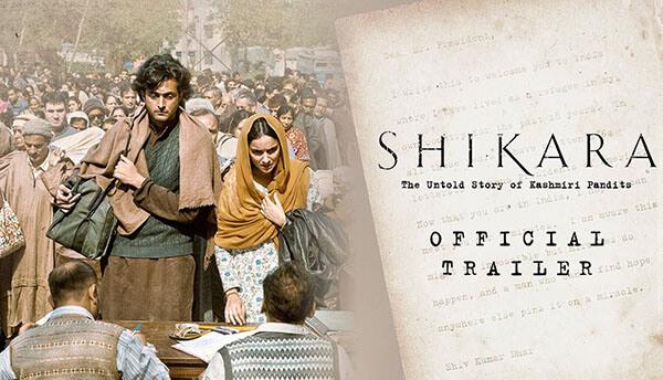 Shikara movie, Shikara movie poster
