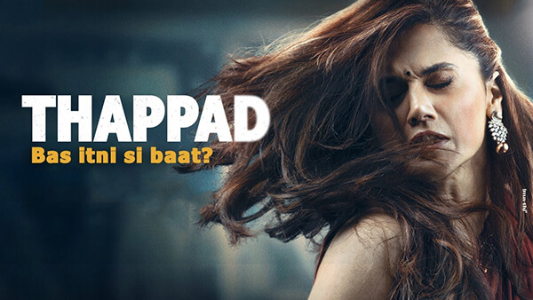 thappad movie, thappad poster